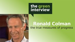 Ronald Colman: The True Measures of Progress
